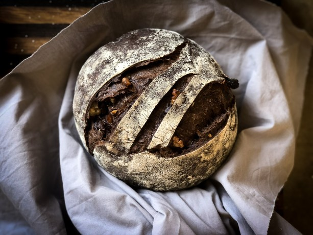 Babette's chocolate and fruit sourdough bread.
